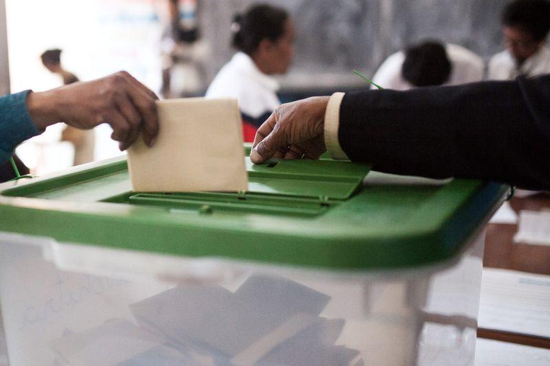 Sensibilisation électorale aux élections présidentielles et législatives